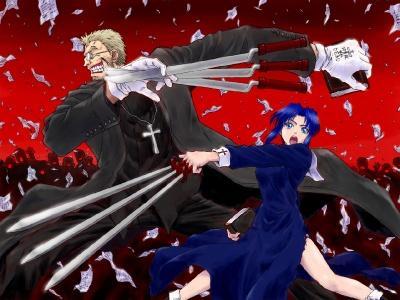 Обои по аниме Hellsing-14