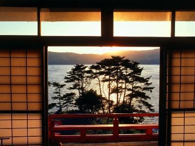Японский пейзаж-51