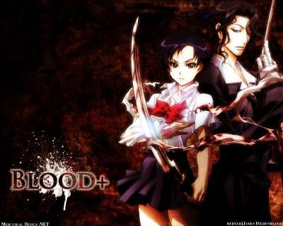 Blood+ обои-1