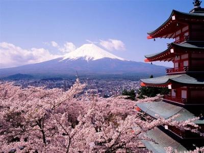 Японский пейзаж-35