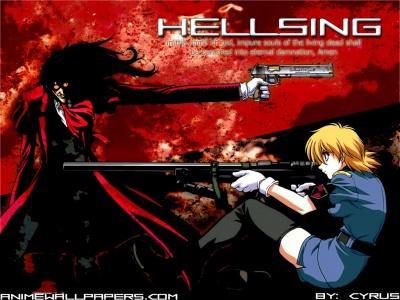 Обои по аниме Hellsing-19