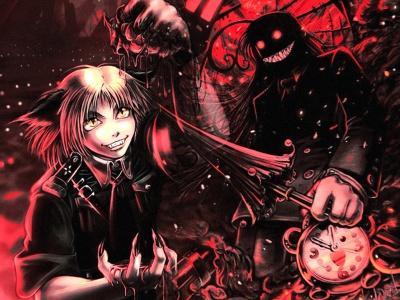 Обои по аниме Hellsing-12