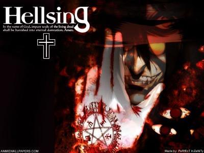 Обои по аниме Hellsing-31