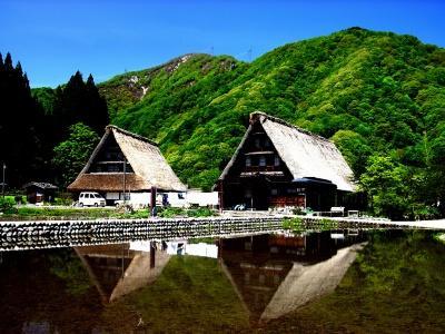 Японский пейзаж-11