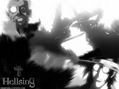 Обои по аниме Hellsing-3