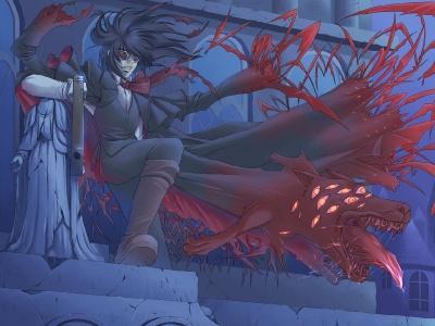 Обои по аниме Hellsing-10