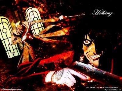 Обои по аниме Hellsing-22