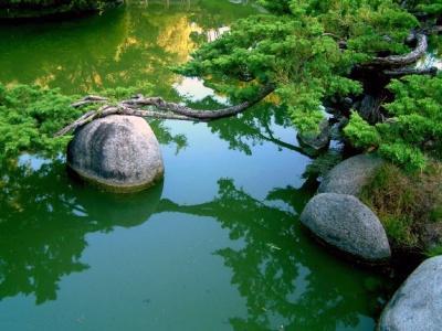 Японский пейзаж-15