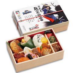 Бенто с героями Sengoku Basara. Японская посуда бенто.
