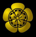 Эмблема (мон) рода Ода.