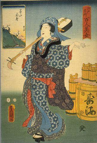 Миф о появлении саке